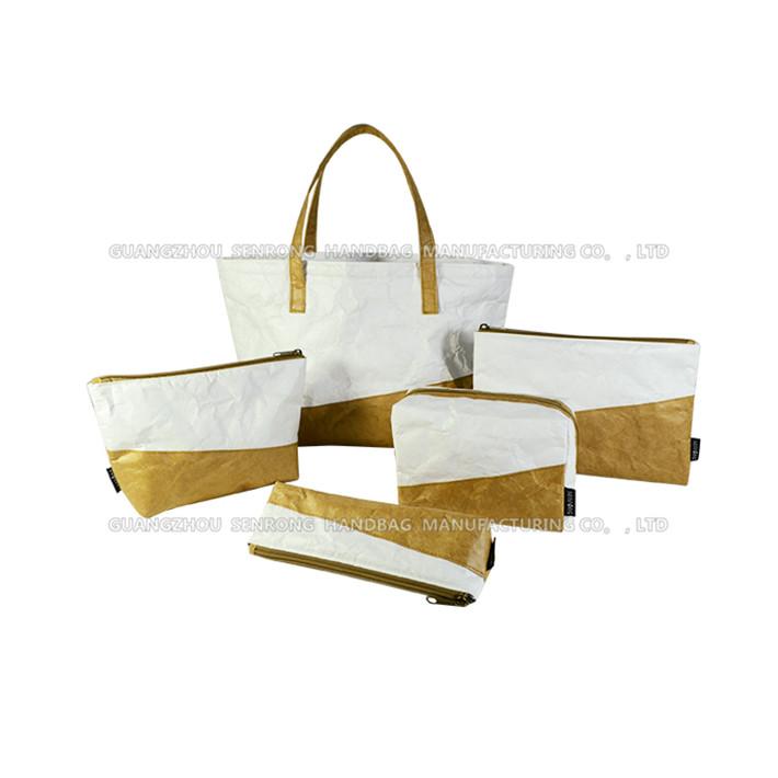 杜邦纸文具包 防水笔盒 日式小清新收纳购物袋定做图片