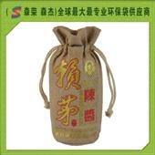 赖茅麻布拉绳酒袋