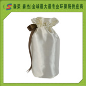 白色色丁布酒袋