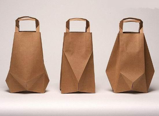 手工制作新概念时尚创意牛皮纸袋