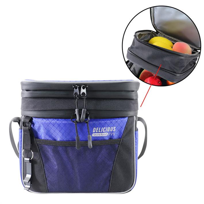 宠物包外出旅行便携包定制 双层干湿分离保温包 扩容铝箔冰包袋